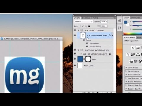 How to Make MeeGo Icons With Photoshop (For Cool Twitter Profile Photos)