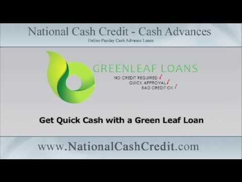 Quick Cash: Get Quick Cash with a Green Leaf Loan