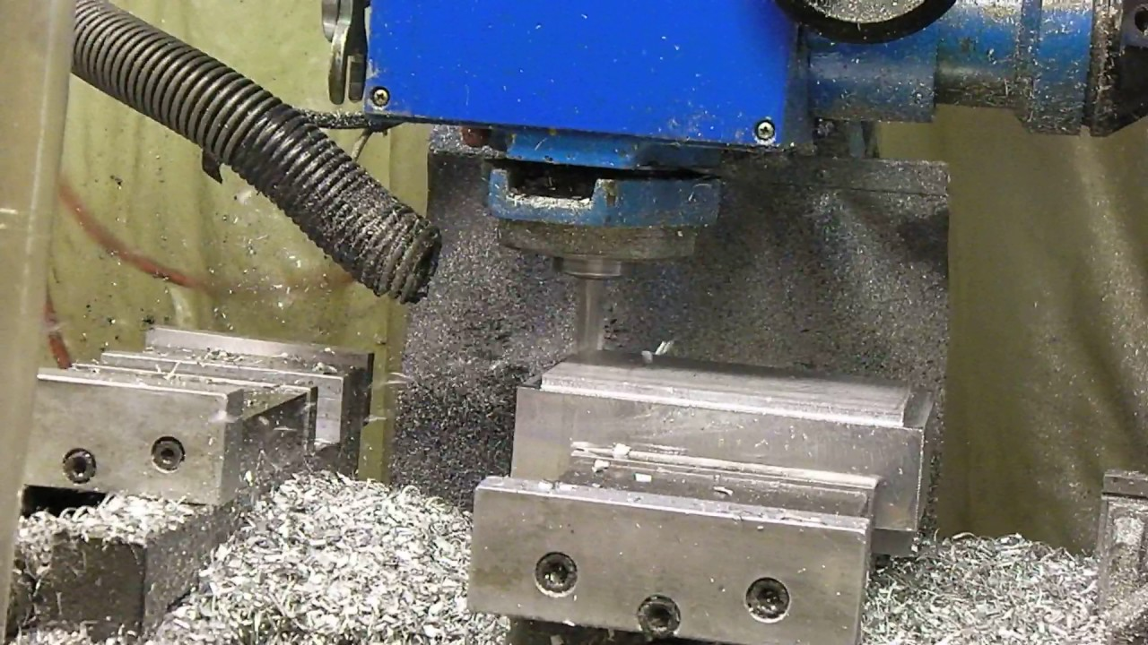 High speed face milling IH RF-45 milling machine