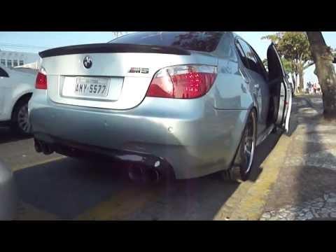 BMW ///M5 Carbon Fiber Body Kit Acceleration (Santos,sp)