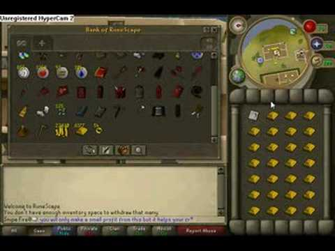 *How to level crafting and make money in runescape*