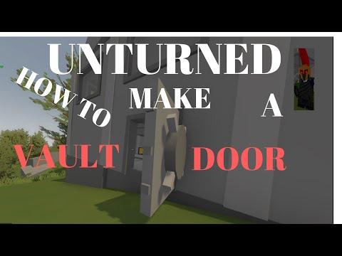 Unturned how to make vault door