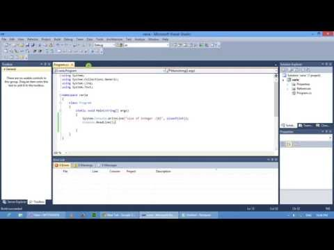 How to declare Variable in c#