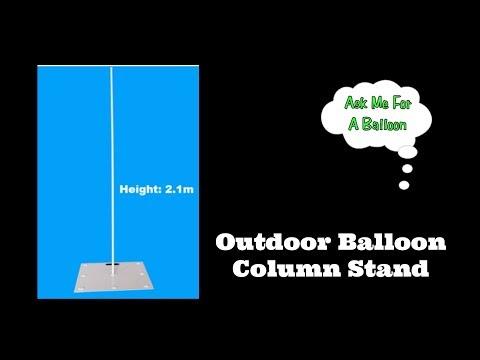 Outdoor Balloon Column Stand