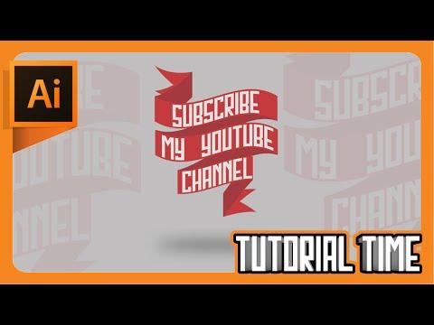 Tutorial Time : How to make Ribbon/Banner (Adobe Illustrator)