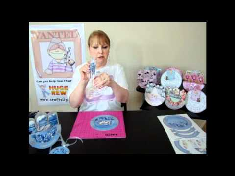 CUP TV Episode 63 - Sandie Burchell makes an Off Your Rocker Card Kit