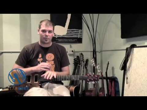 Paul Reed Smith Custom 24 Tuning Heads:  Drew Krag's Dream Guitar On Home Studio Workshop, Analog Ed