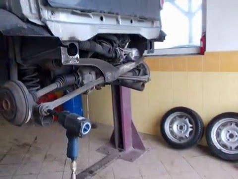 Smart car 450 - clutch change - fast instruction