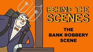 Super Science Friends | Behind the Scenes | The Bank Robbery Scene