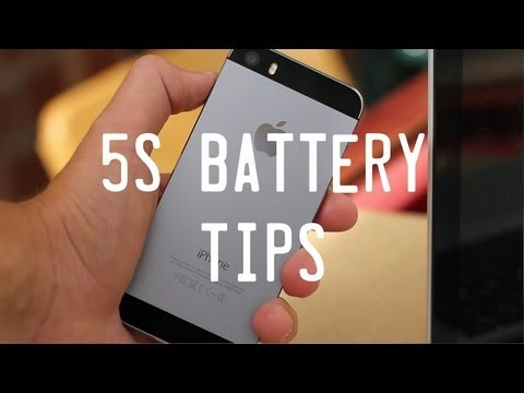 How To Increase iPhone 5S Battery Life | Five Ways