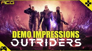 Outriders Demo Impressions - Some Good, Some Bad, Some Bland