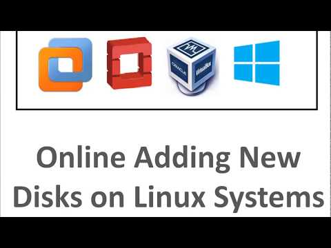 Adding New Disks Online on Linux Systems