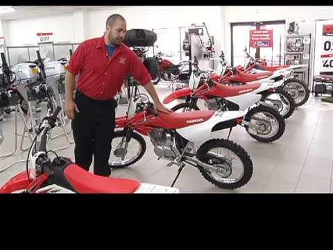 Motorsports - Choosing the right size dirt bike