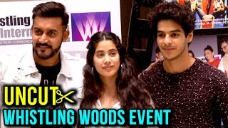 Janhvi Kapoor And Ishaan Khatter At Whistling Woods | FULL EVENT | UNCUT