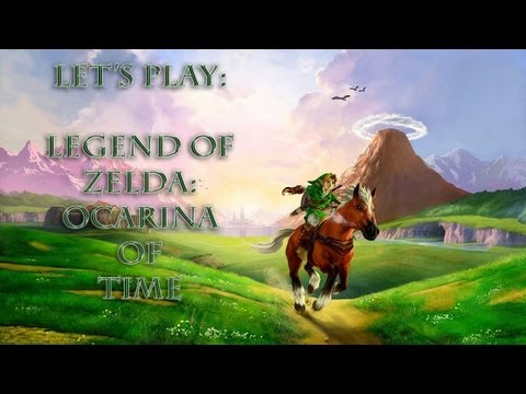 Let's Play! - Legend of Zelda: Ocarina of Time - Episode 4 - SCARECROW SONG FAIL