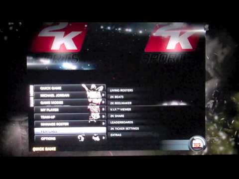 How to Make Barack Obama Playable in NBA 2K11