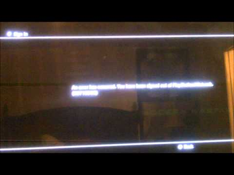SONY PS3 NETWORK ERROR 80710A06 MAY 4,2011-update ONLINE AGAIN? NEWS CONFERENCE