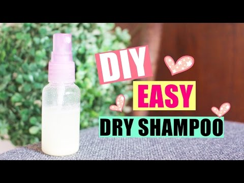DIY Quick and Easy Dry Shampoo!! (2 products only!) | DIYwithKIM