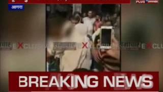 Agra Video: बेवफा प्रेमी की प्रेमिका ने की जमकर पिटाई....