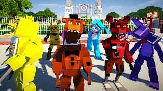 Minecraft FIVE NIGHTS AT FREDDY