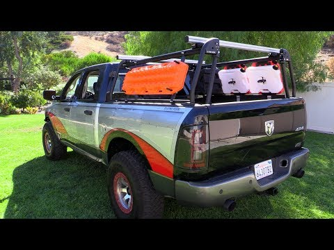Active Cargo System Rack by Leitner Designs -Transformed the Truck into an Adventure Rig!