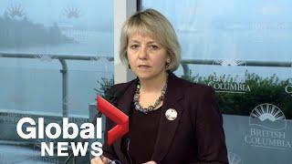 "Coronavirus outbreak: Second ""presumptive confirmed"" case in B.C."