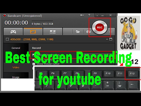 Best Screen Recording  for YouTube