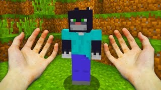 REALISTIC MINECRAFT - STEVE SWITCHES BODIES WITH A CAT! 😸