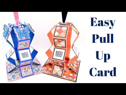 Easy Pull Up Card