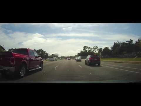 Driving through Port Orange, Florida