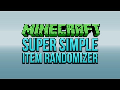 Minecraft: Super Simple Item Randomizer Tutorial