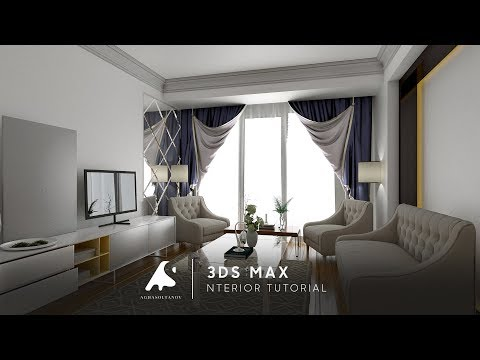 3Ds Max 2017 Interior Tutorial Modeling Design