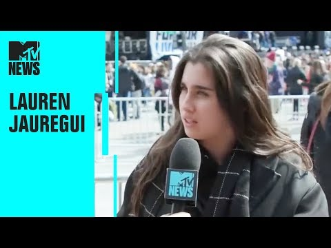 Fifth Harmony's Lauren Jauregui on Gun Violence & The March For Our Lives Movement | MTV News