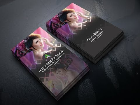 How to Create a Fashion Business Card in Photoshop
