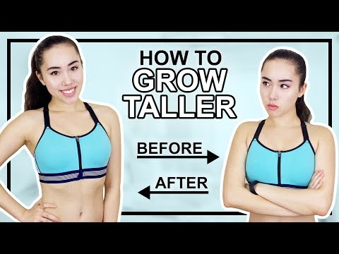HOW TO GROW TALLER | 7 Minute Stretching Routine