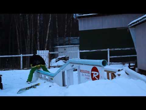 Backyard PVC Double Kink rail edit