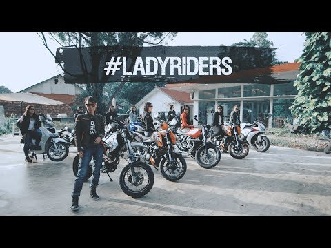 We're not biker chicks, we're #ladyriders