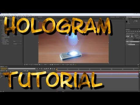 [TUTORIAL] HOW TO MAKE A HOLOGRAM || AFTER EFFECTS and LUMI with 3DS MAX