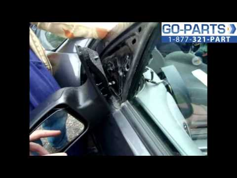 Replace 2003-2007 Ford Focus Side Rear View Mirror , How to Change Install 2004 2005 2006