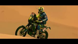 Sandy Dunes of Peru awaits the Sherco TVS Racing Rally Factory Team #Dakar2019