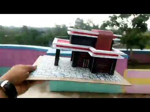 How to make a paper house.(BEAUTIFUL & EASY WAY)