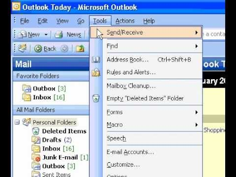 Microsoft Office Outlook 2003 Change the default font for new forwarded, and replied to messages