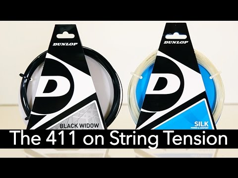 Here's What You Need to Know About Tennis String Tension