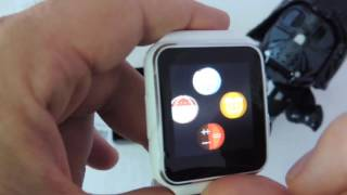 BAKEEY X6 Dual Mode Smartwatch with Curved Screen: Unboxing