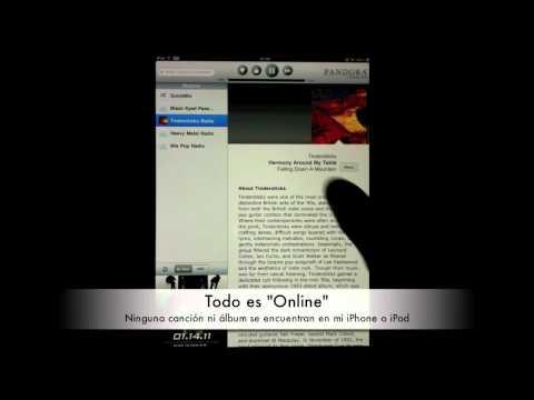 Guía y revisión de Pandora Radio (iPhone e iPad)