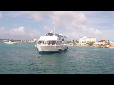 Riding Tender from George Town, Grand Cayman Island, Back to Norwegian Breakaway