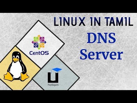 Linux in Tamil - DNS server - Payilagam - DevOps Training in Chennai