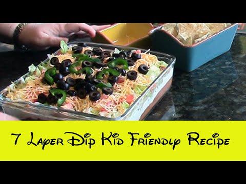 7 layer dip kid friendly recipe