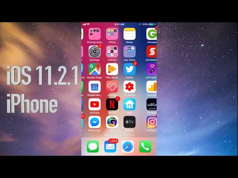 How to Update to iOS 11.2.1 - iPhone 7 iPhone 8 iPhone 6 iPhone SE iPhone 5S iPhone X