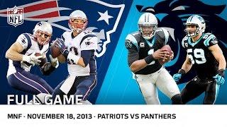 Cam Newton Beats Tom Brady Patriots Vs Panthers Week 11 2013 Nfl Full